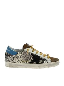 Golden Goose Deluxe Brand - Superstar sneakers with reptile effect