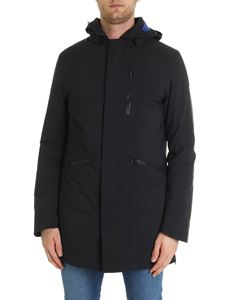 Save the duck - Down parka jacket in black