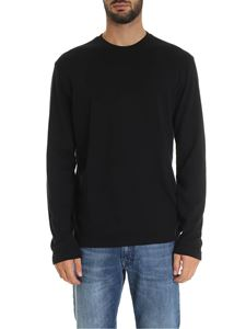 Zanone - Long sleeve t-shirt in black