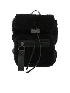 Off-White - Zaino Montone Binder nero