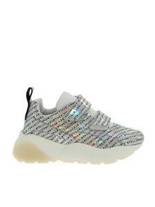 Stella McCartney - Eclypse Velcro Prisma sneakers in silver color