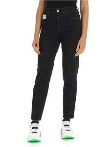Stella McCartney - Black jeans with logo label