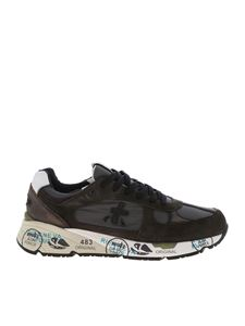 Premiata - Mose sneakers in green and grey