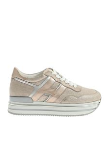 Hogan - H468 sneakers in laminated pink