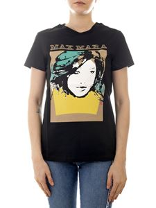 Max Mara - Talpa printed T-shirt in black