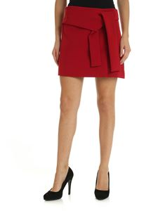 Parosh - Red skirt with bow