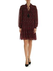 Michael Kors - Black dress with red and white print
