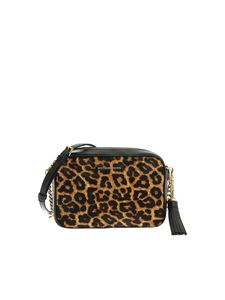 Michael Kors - Jet Set black bag with animalier detail