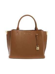 Michael Kors - Grande Arielle handbag in camel color