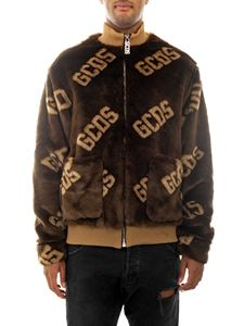 GCDS - New Fur Coach bomber in brown