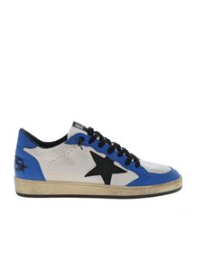 Golden Goose Deluxe Brand - Sneakers Ball Star bianche e blu