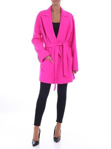 Golden Goose Deluxe Brand - Shion coat in fuchsia color