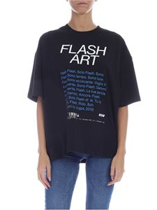MSGM - Flash Art T-shirt in black
