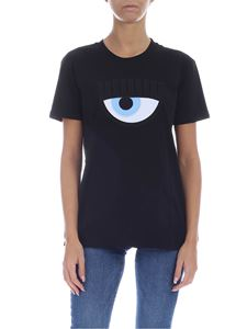 Chiara Ferragni - Eye T-shirt in black