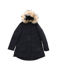 Woolrich - Military Parka down jacket in black