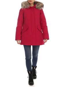 Woolrich - Arctic Parka coat in strawberry red
