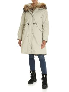 Woolrich - Cascade hooded parka in light beige