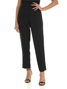 Calvin Klein - Trousers in black technical fabric