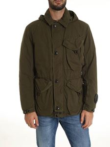 CP Company - La Mille jacket in Army green