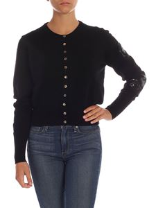 Ballantyne - Embroidered cardigan in black