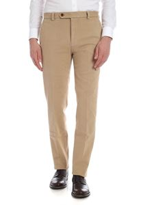 Brooks Brothers - Beige trousers in diagonal fabric