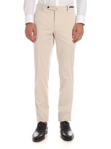 PT01 - Super Slim Fit trousers in cream color