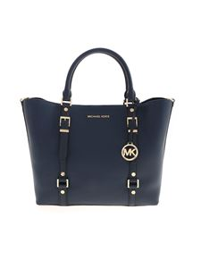 Michael Kors - Bedford Legacy bag in navy blue