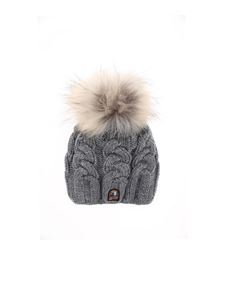 Parajumpers - Cable hat in melange gray