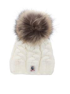 Parajumpers - Cable hat in white