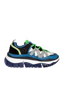 Chloé - Blake sneakers in blue and green color
