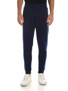 Adidas Originals - 3 Stripes sweatpants in blue