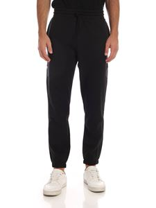 Adidas - Tech black sweatpants with logo