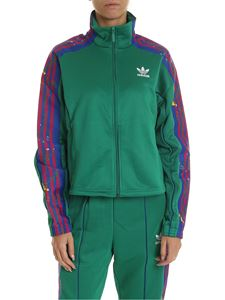 Adidas - Adidas Orginals Track sweatshirt in green