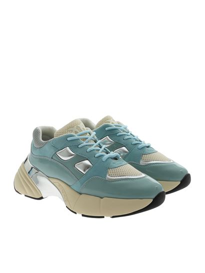 finest selection b2248 899d8 Rubino Sky sneakers in aquamarine color