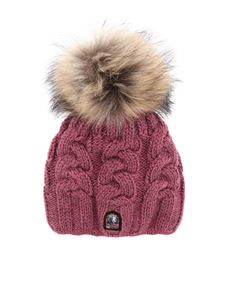 Parajumpers - Cable hat in purple