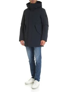 Woolrich - Piumino Stretch Mountain blu