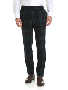 Golden Goose - Ryuu trousers with tartan pattern
