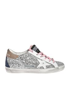 Golden Goose Deluxe Brand - Superstar glittered sneakers with white star