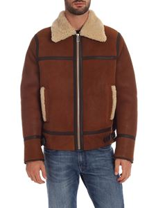 PS by Paul Smith - Sheepskin jacket with straps