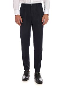 PS by Paul Smith - Blue trousers with turned-up bottom