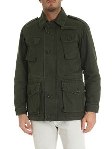 Aspesi - Vancouver jacket in army green color