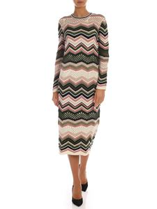 M Missoni - Chevron knitted dress