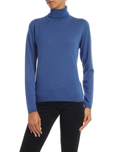 Max Mara - Kipur pullover in pale blue color