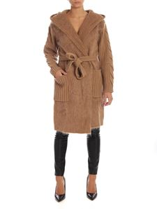 Max Mara - Large cardigan in camel color