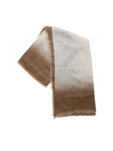 Faliero Sarti - Maly scarf in brown and ivory