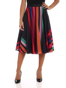 PS by Paul Smith - Multicolour striped midi skirt