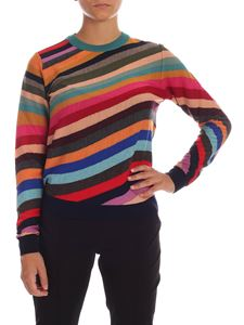PS by Paul Smith - Multicolor pullover with Swirl inlay