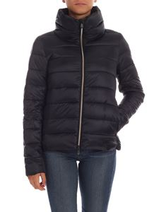 Save the duck - Quilted-effect down jacket in black