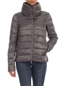 Save the duck - Quilted effect down jacket in grey