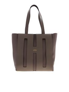 Hogan - Borsa Tote Bi-Bag color tortora